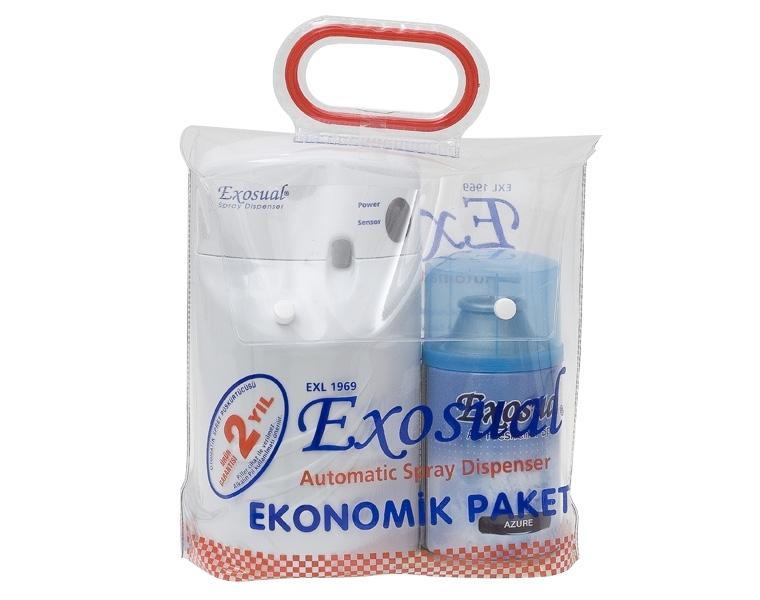 Exosual Eko Paket Makina + 1 Sprey 260 ml.