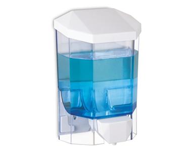 Sıvı Sabun Aparatı 1000 ml (Şeffaf)