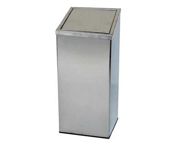 Dokunmatik Krom Çöp Kovası Yaylı 50 lt