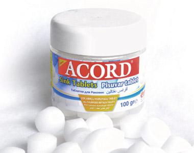 Acord Pisuvar Tablet 100 gr