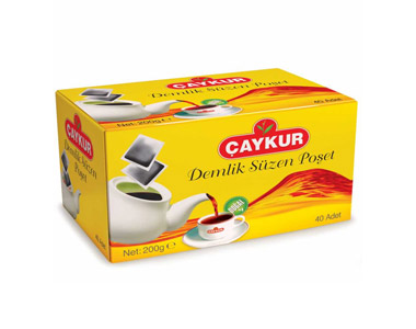 Çaykur Demlik Süzen Poşet Çay 40´lı