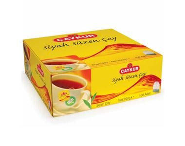 Çaykur Siyah Süzen Bardak Poşet Çay 100´lü