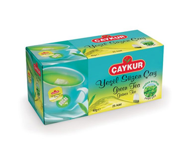 Çaykur Yeşil Süzen Melisalı Poşet Çay 20´li