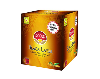 Doğuş Black Label Bardak Poşet Çay 1000´li