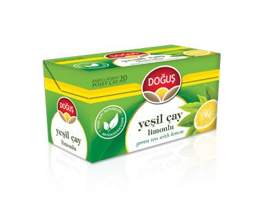 Doğuş Limonlu Yeşilçay Poşet Çay 20´li