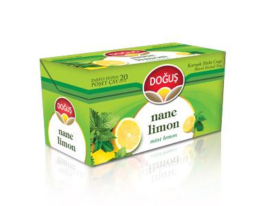Doğuş Nane-Limon Poşet Çay 20´li