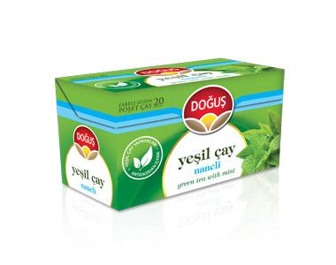 Doğuş Naneli Yeşilçay Poşet Çay 20´li