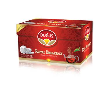 Doğuş Royal Breakfast Demlik Poşet Çay 100´lü