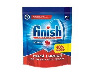 Calgonit Finish Bulaşık Makinesi Deterjanı Tableti 110´lu