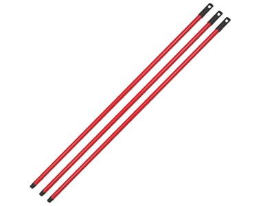 Metal Sap Kırmızı Vidalı 120 cm