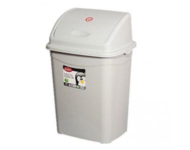 Çöp Kovası Sallanan Kapak Plastik Köşeli No:5