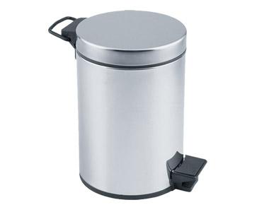 Çöp Kovası Pedallı Krom 3 lt