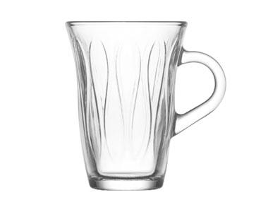 Lav Kulplu Çay Bardağı Mina 6´lı