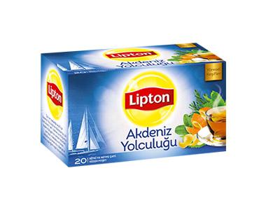 Lipton Akdeniz Yolculuğu Poşet Çay 20´li