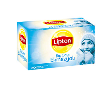 Lipton Kış Çayı Ekinezyalı Poşet Çay 20´li