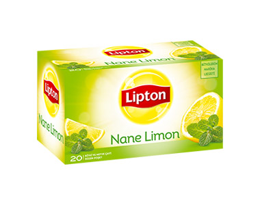 Lipton Nane-Limon Poşet Çay 20´li