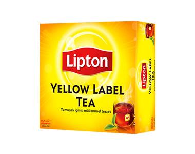 Lipton Yellow Label Bardak Poşet Çay 100´lü