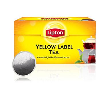 Lipton Yellow Label Demlik Poşet Çay 100´lü