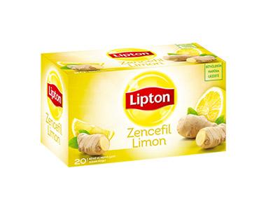 Lipton Zencefil-Limon Poşet Çay 20´li