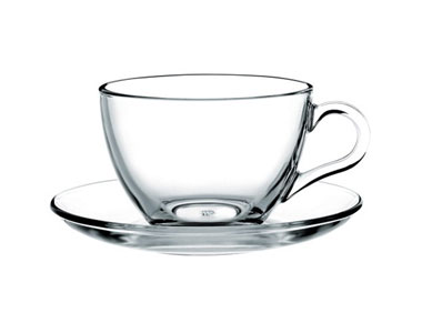 Nescafe Fincan Takımı Cam-Porselen
