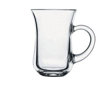 Paşabahçe Kulplu Çay Bardağı Keyif