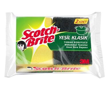Scoth - Brite Klasik Bulaşık Süngeri 2 li