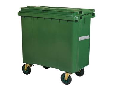 Çöp Konteyneri 660 lt. (Tekerlekli)