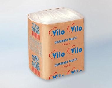 Vilo Z Katlı Dispenser Peçete (2 Katlı) 18*200